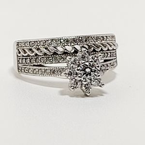 925 engagement ring, size 7